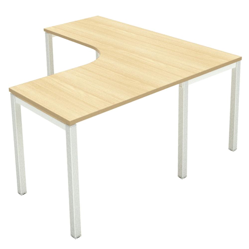 LEX: L-Shape Office Desk, 150x150x70#LEX-LD150-15070L 1