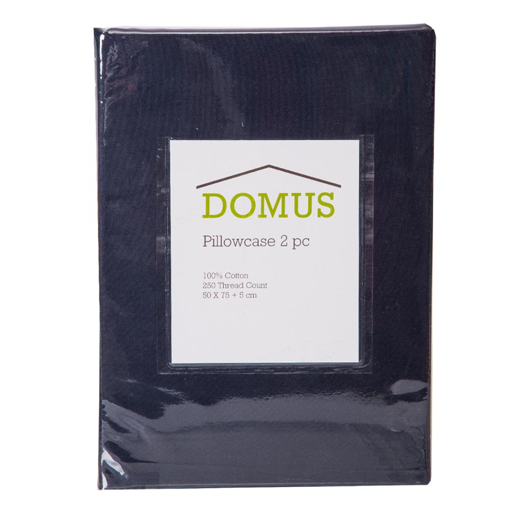 DOMUS: Oxford Pillow Case Set: 2pc, STN-250TC: 50×75+5cm 1
