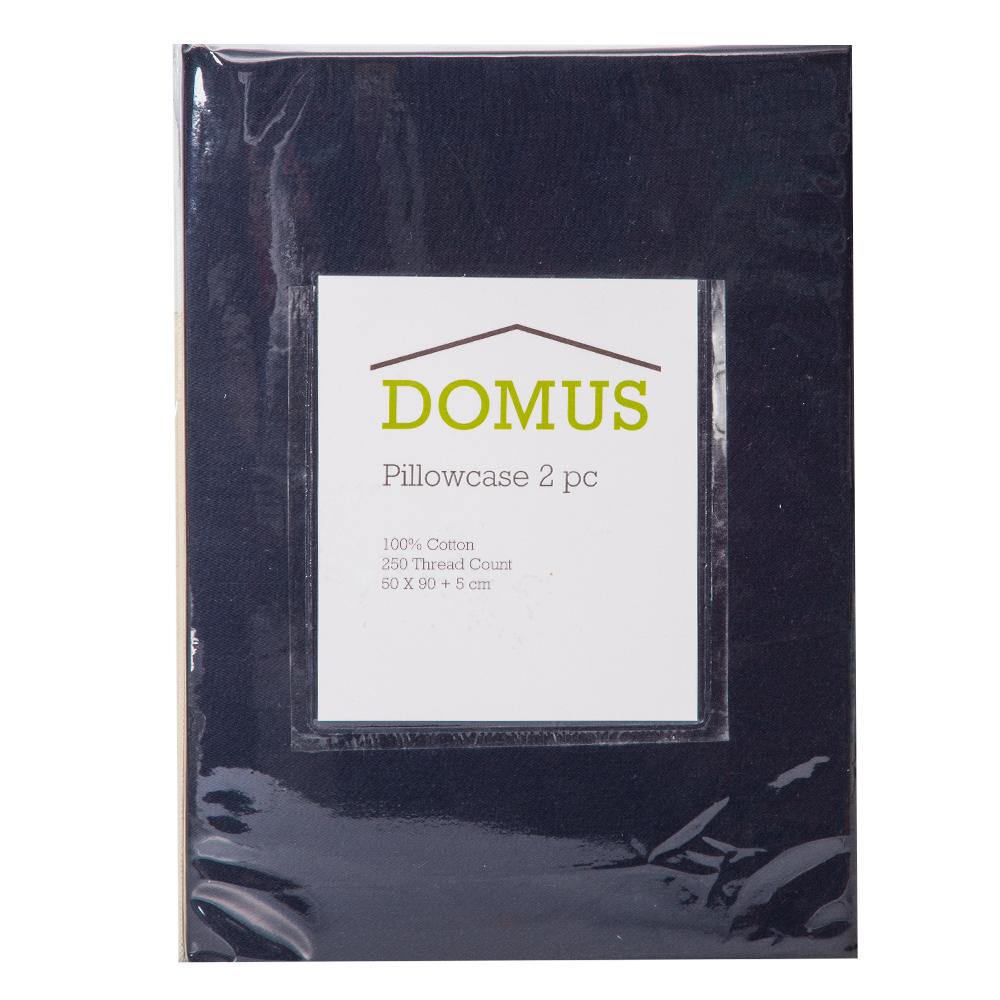 DOMUS: Oxford Pillow Case Set: 2pc, STN-250TC: 50×90+5cm 1