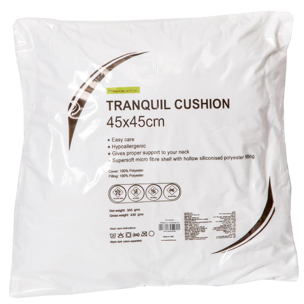 HomeCentre: Tranquil Supersoft Cushion: 45x45cm 1