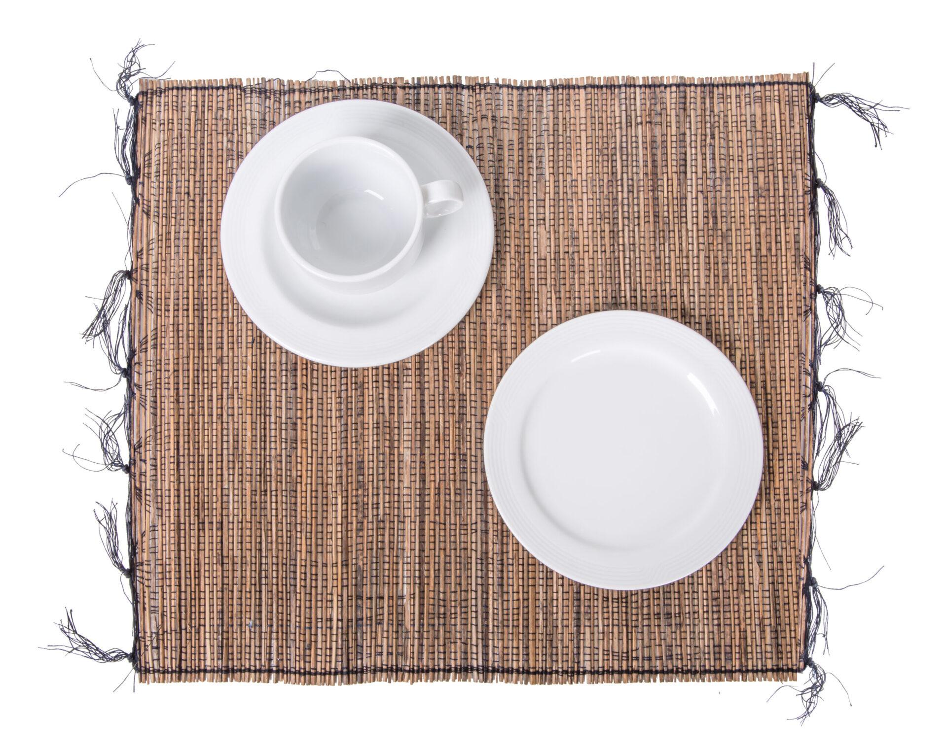 Placemat: Cotton + Coco Stick; 45x35x0.1