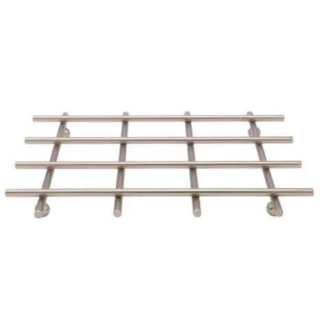 Nelis Steel Pot Stand, (19x19x2)cm, Silver