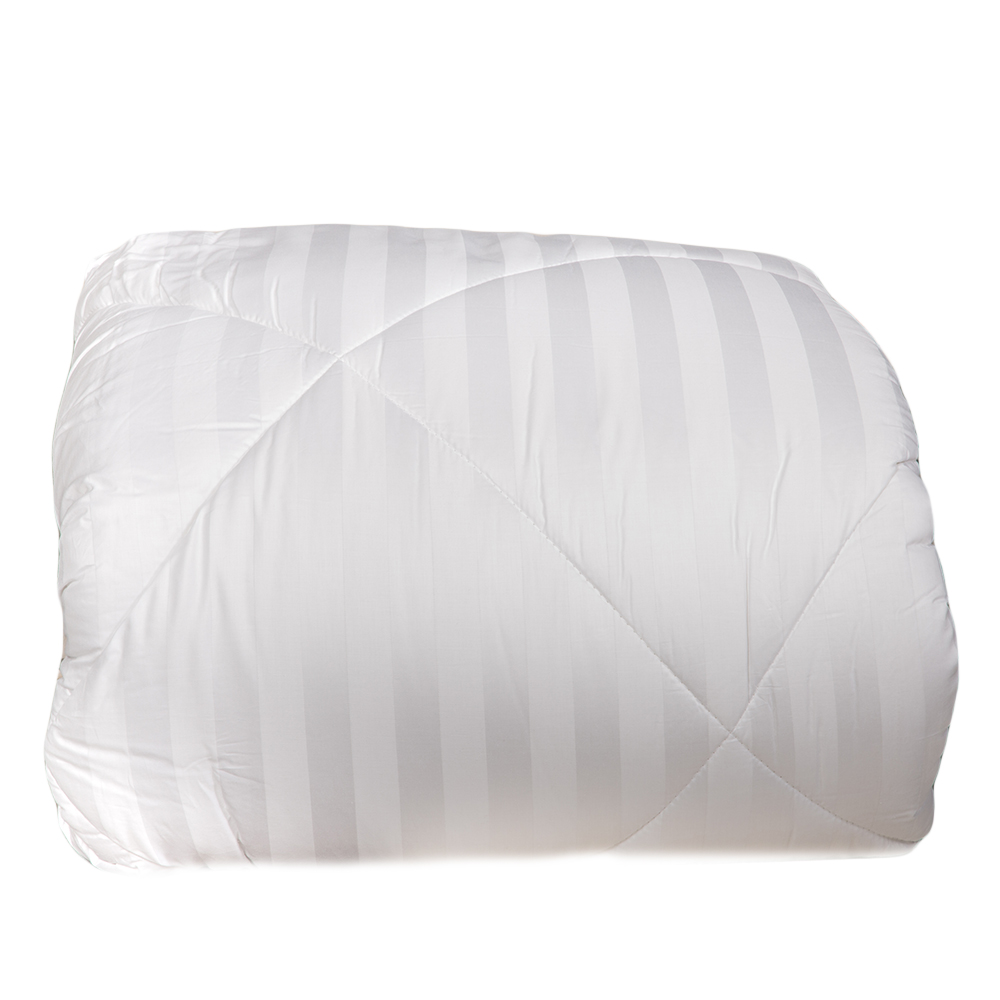 DOMUS: Queen Comforter Set 6pc: 250TC-2.0 Striped: 230x240cm