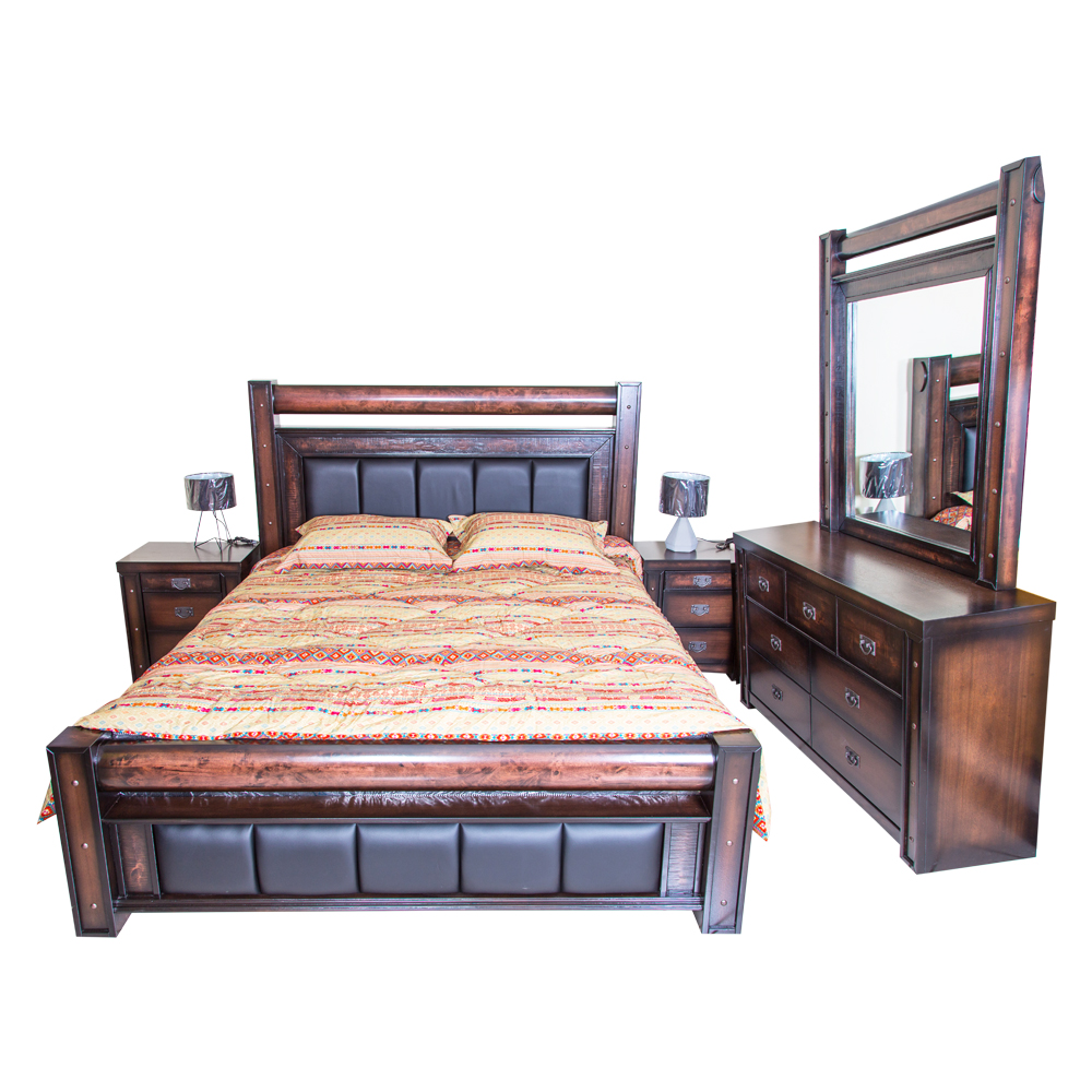 Cannon: King Comforter, Stripes/Dots, 6pc: 260x250cm 1