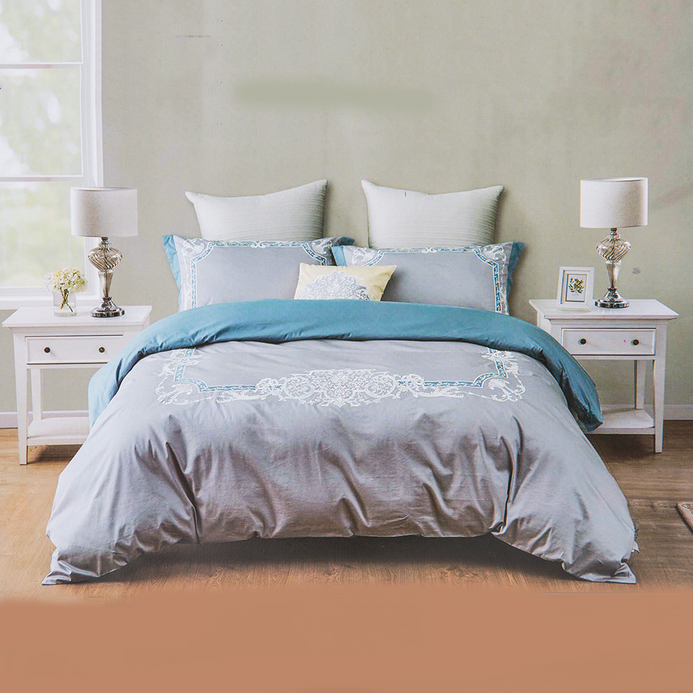 DOMUS: Queen Comforter Set: 7pcs: 220x230cm #F089 1