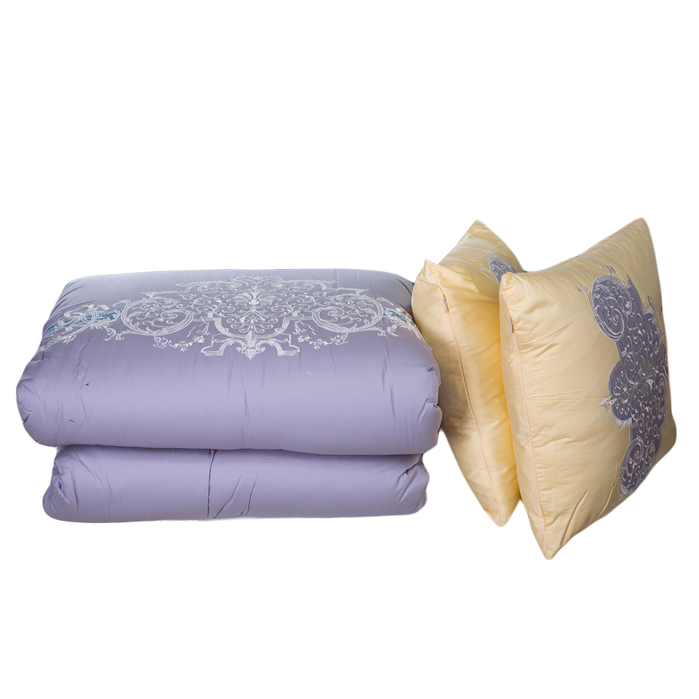 DOMUS: Queen Comforter Set: 7pcs: 220x230cm #F089