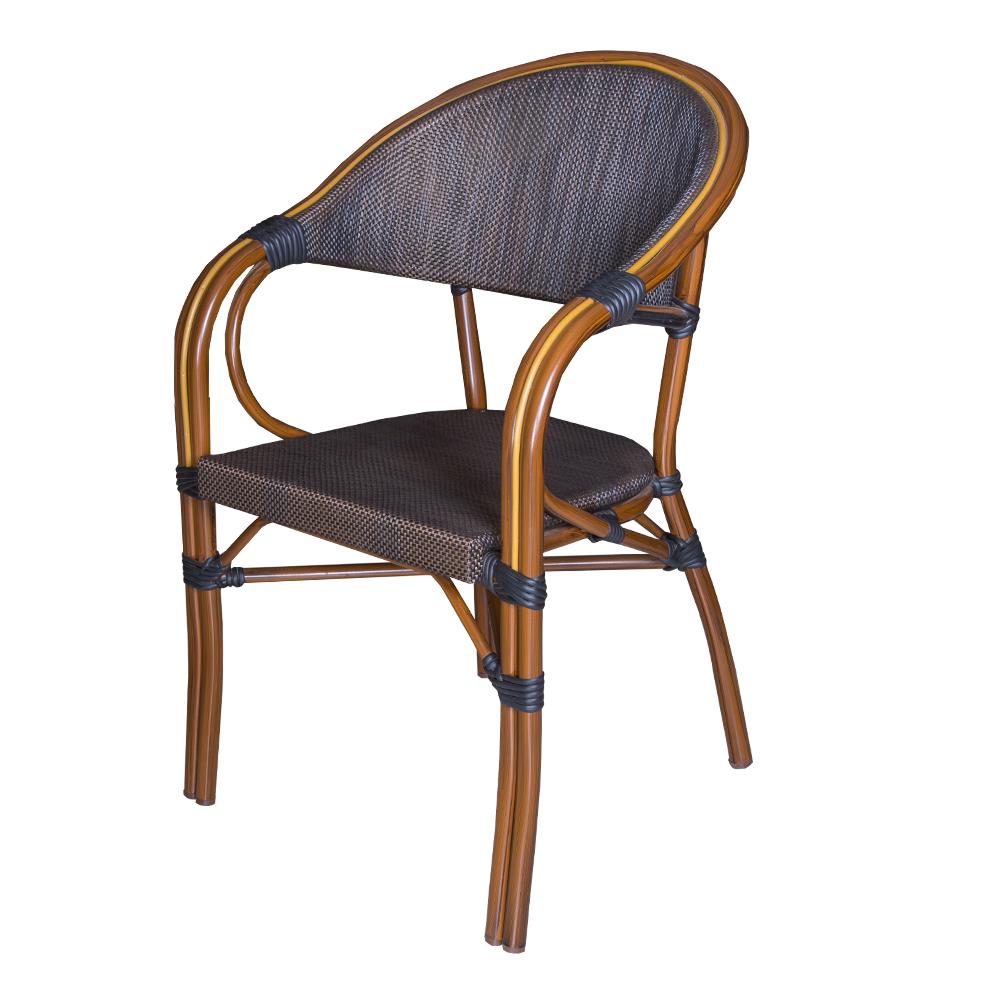 Champion: Leisure Chair With Aluminium Frame: 56x58x83cm #AS-6020