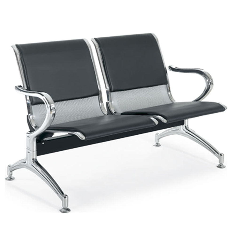 Waiting Chair : 2-Seater : 122x67x79cm, Ref