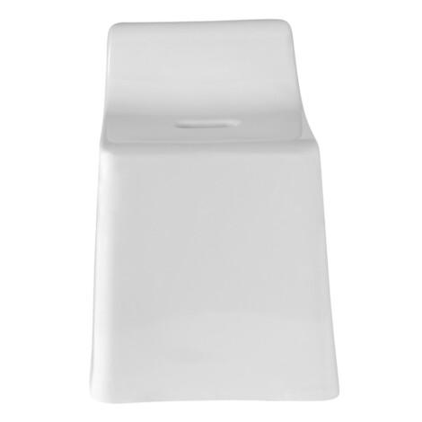 Benjamin Stackable Bath Chair; (34.5x26x41.5)cm, Light Grey