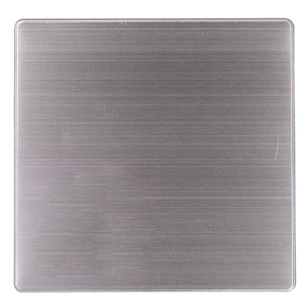 Domus: 1 Gang Blank Plate #Q5BMB 1