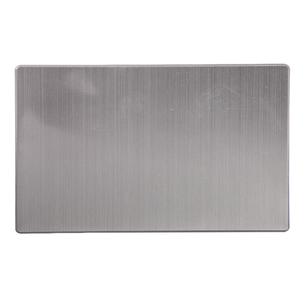 Domus: 2 Gang Blank Plate #Q5BMB2 1