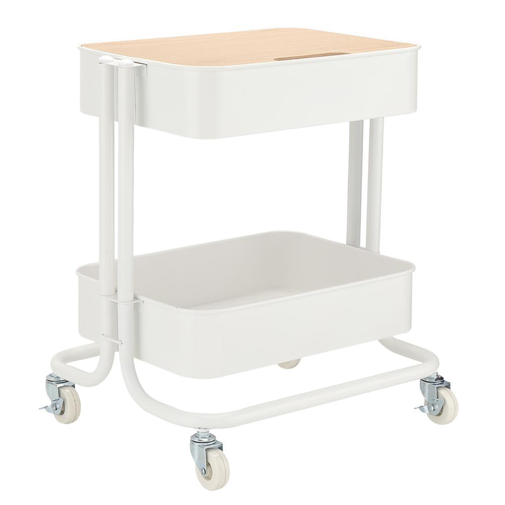 Index: Ello 2-Tier Storage Cart; 43x35x50cm #170115631 1