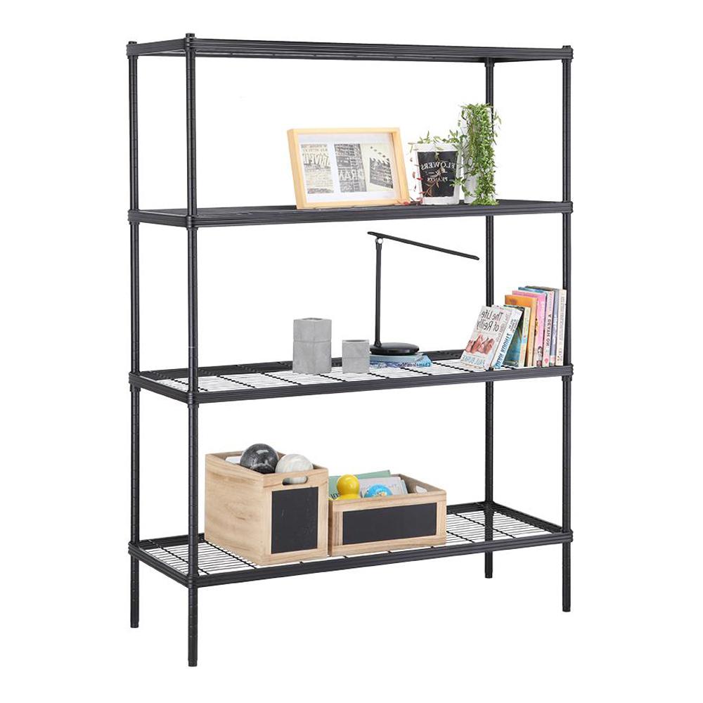 Index: Wirenet Storage Shelf 4 Tier#12045160: 120x45x160cm #170111511