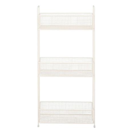 Bayne 3-Tier Storage Rack; (33x18x68.5)cm, White