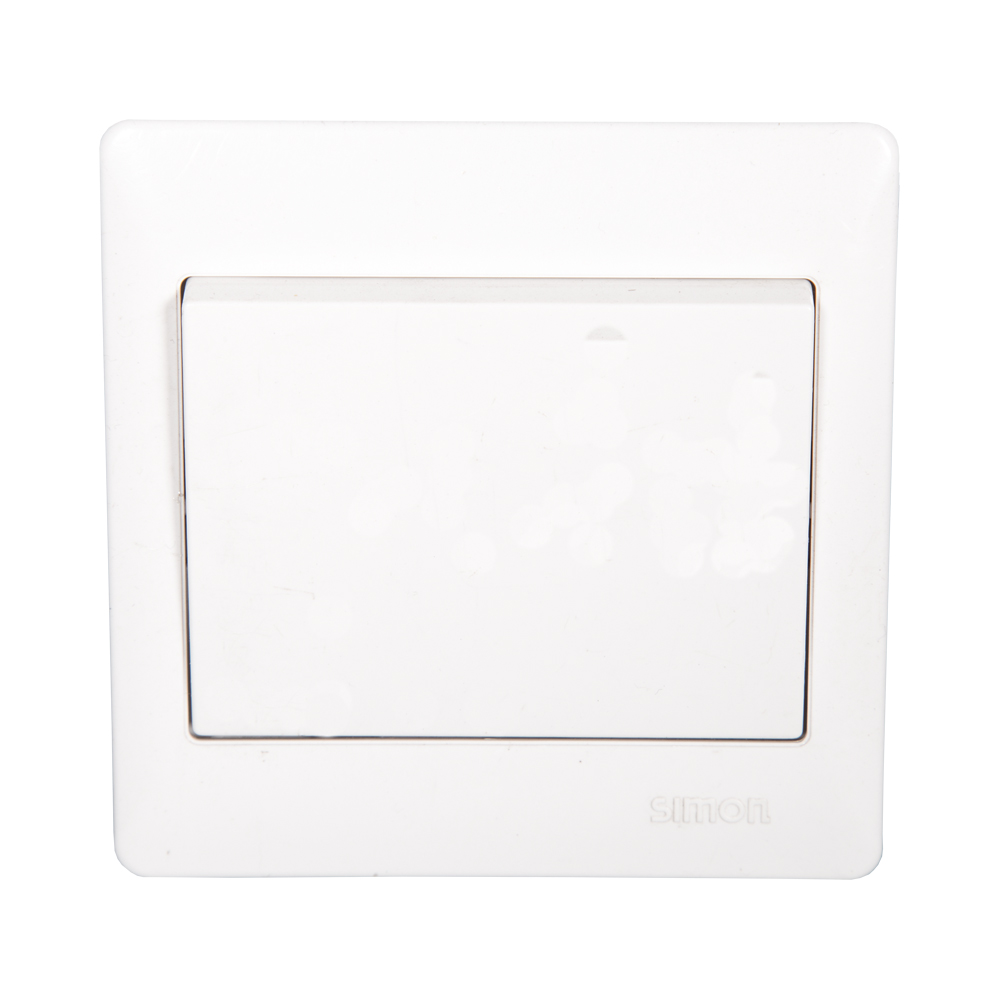 SIMON Switch, 1-Gang 1-Way, White #51011B 1