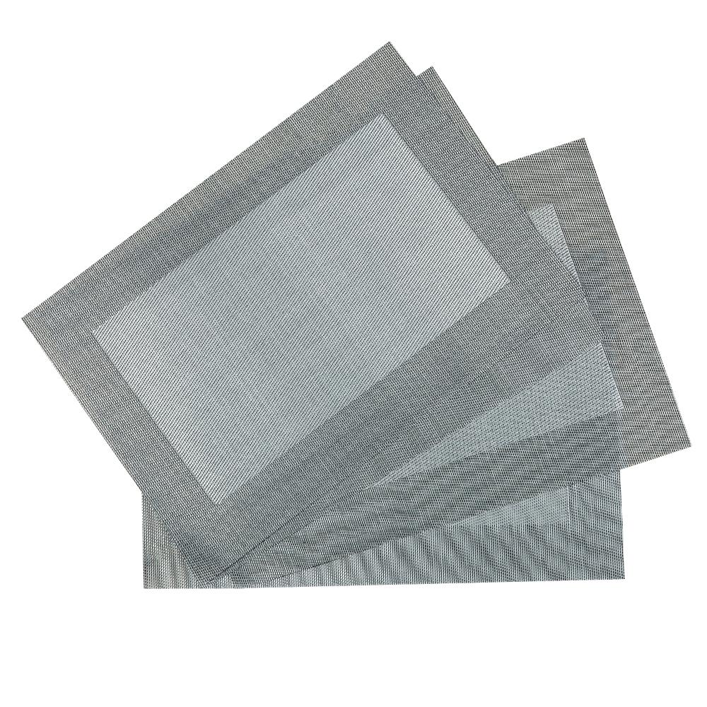 PVC Table Mat Set: 4pc, 45x30cm #ST010371