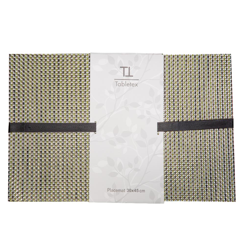PVC Table Mat Set: 4pc, 45x30cm #ST440162 1