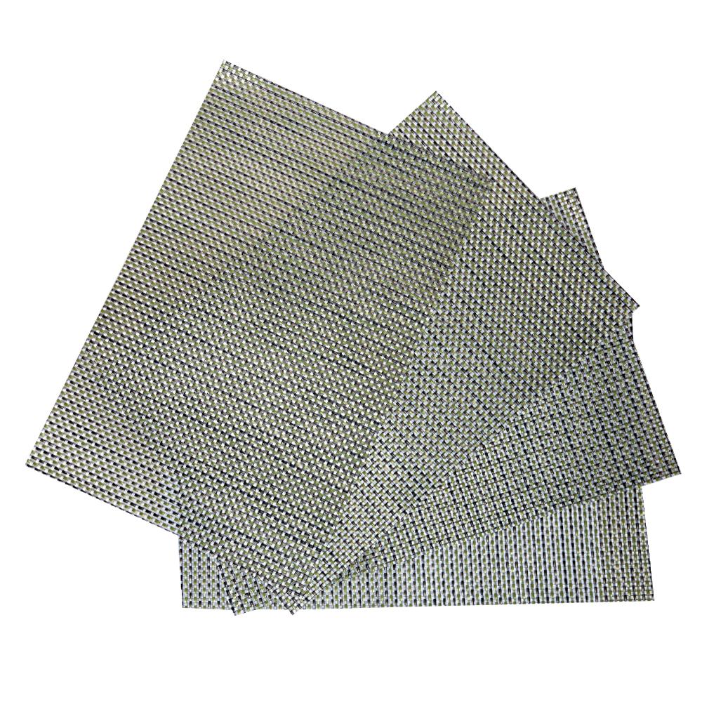 PVC Table Mat Set: 4pc, 45x30cm #ST440162