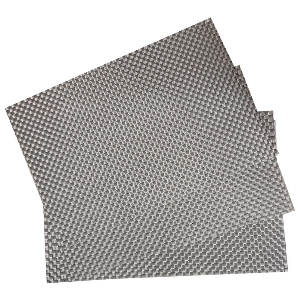 PVC Table Mat Set: 4pc, 45x30cm #ST880077