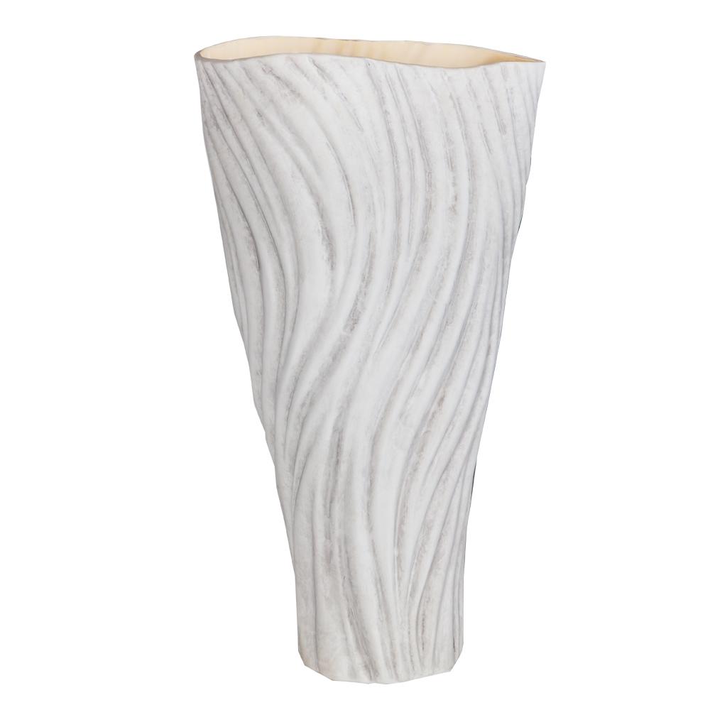 WISDOM: Ceramic Vase: 26x26x45cm Ref.LP40-52
