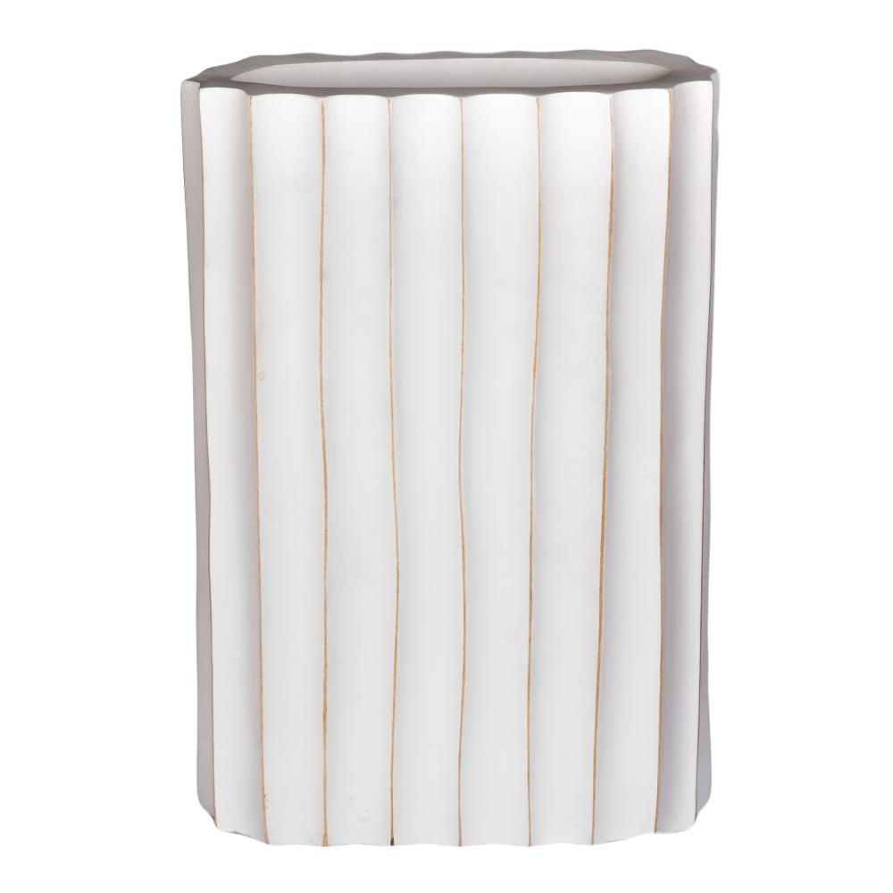 TYL: Wooden Vase; 25.4×30