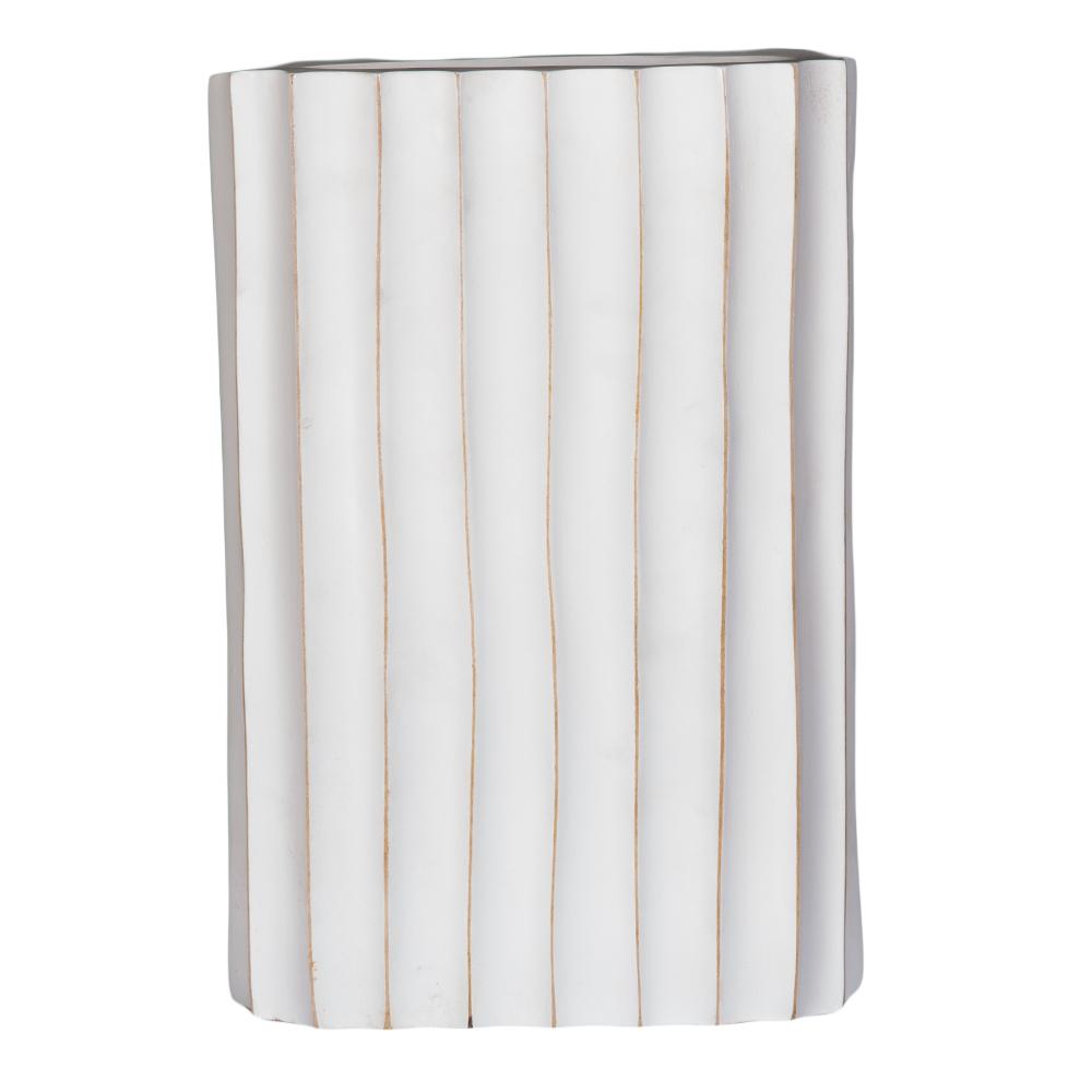 TYL: Wooden Vase; 25.4x30.48cm #JM-02A