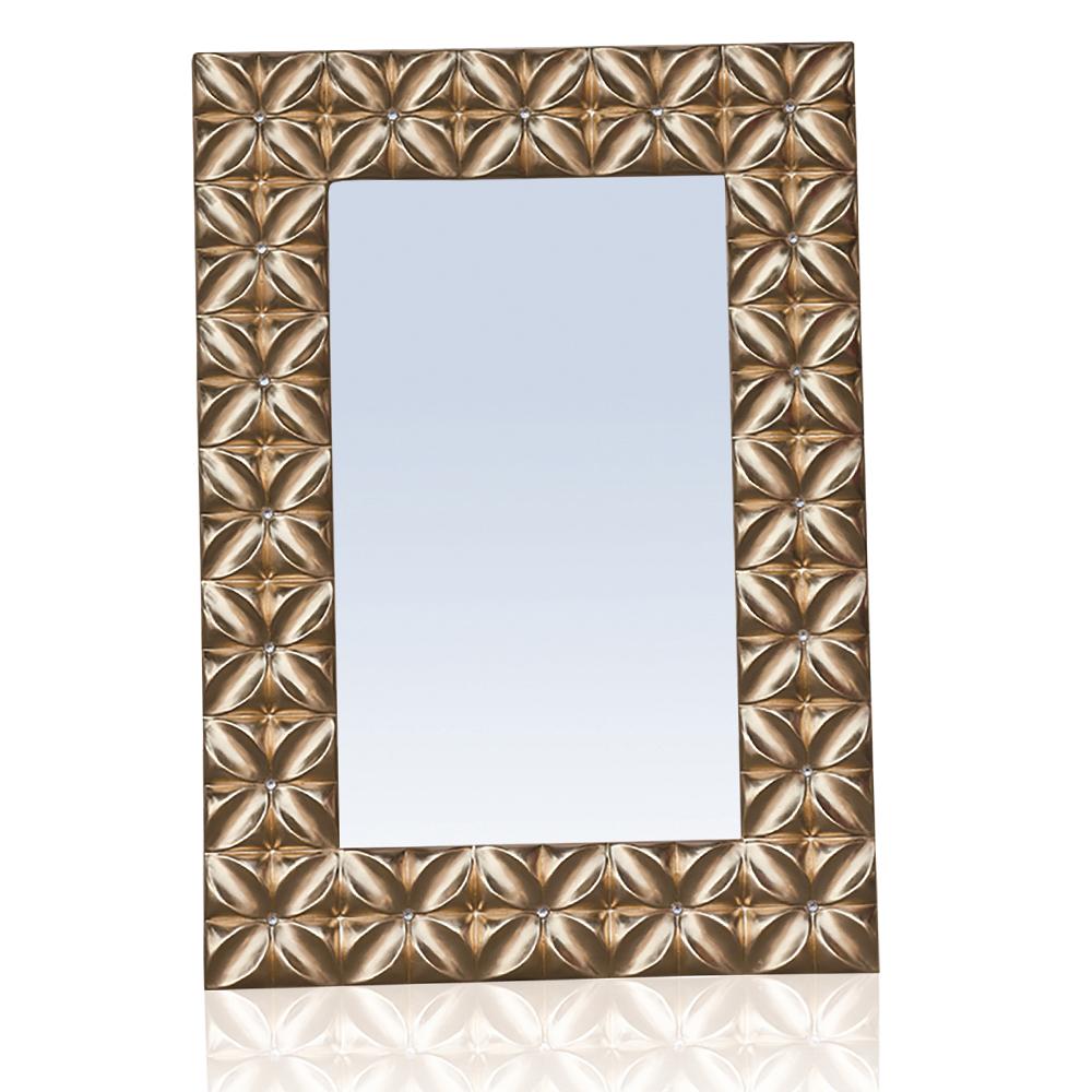 Decorative Wall Mirror With Frame: 106x76x4