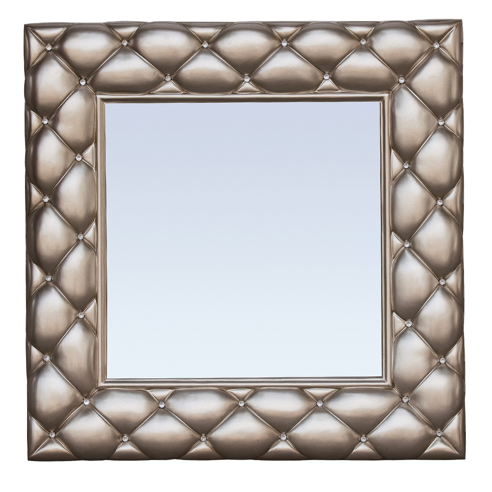 Decorative Wall Mirror With Frame: 89.5×89
