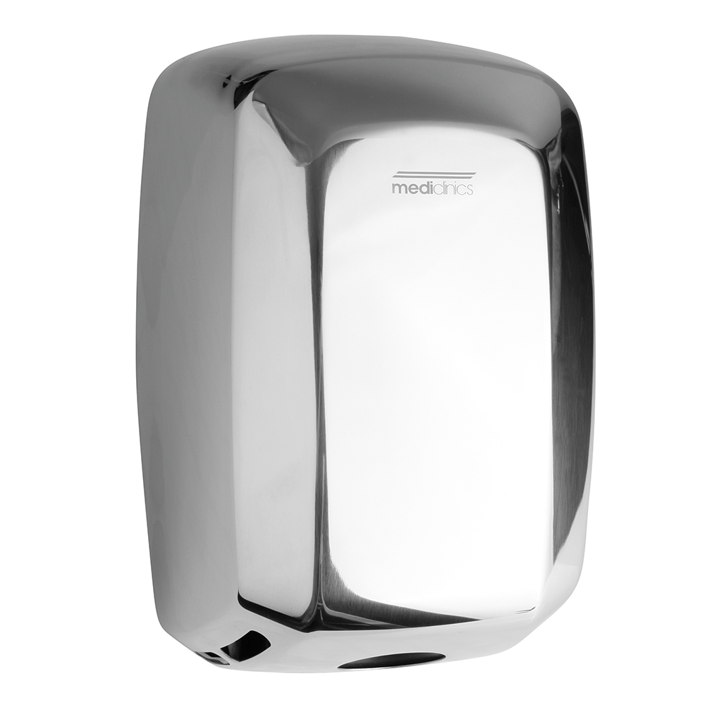 Mediclinics: Machflow: Auto Hand Dryer, Bright Steel #M09AC 1