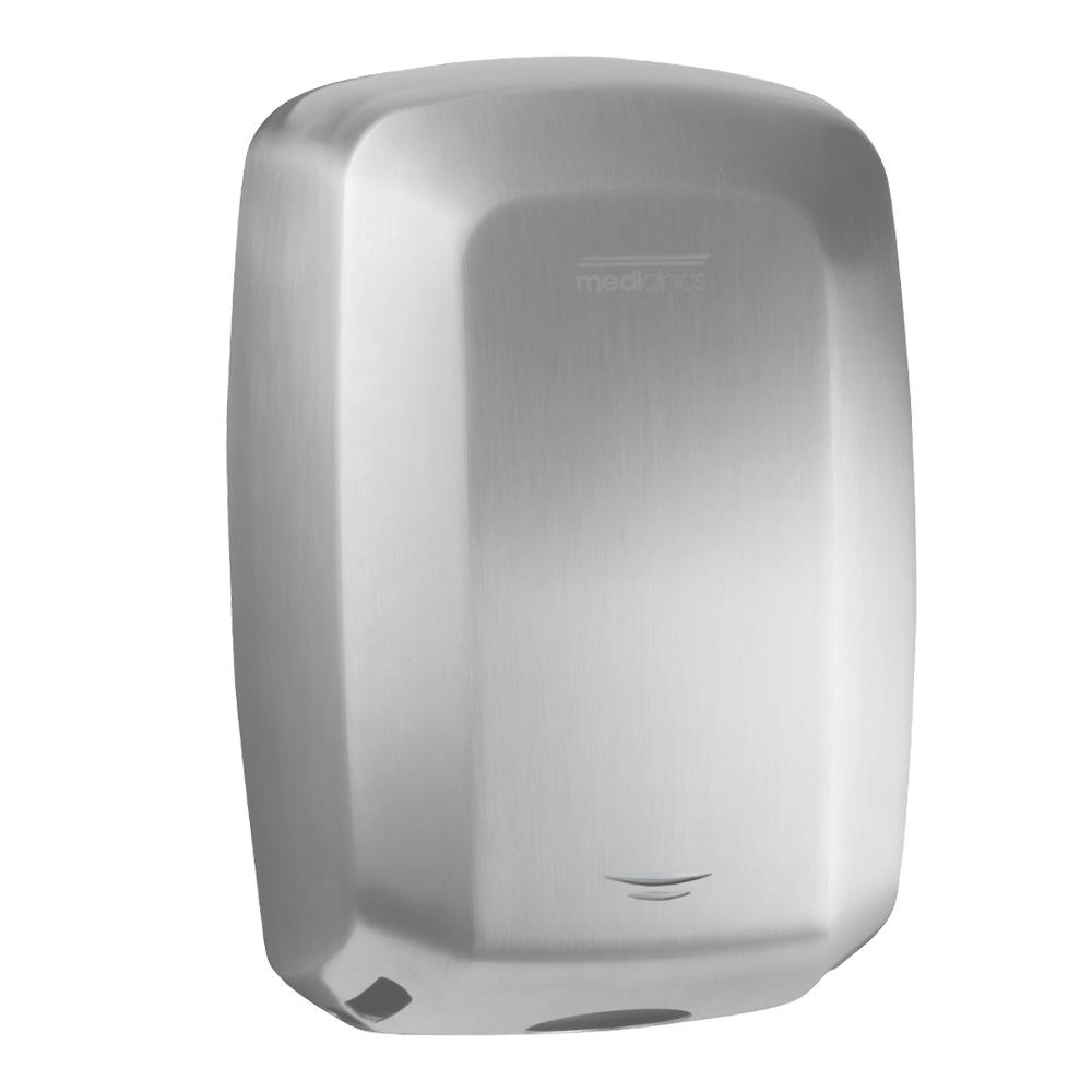 Mediclinics: Machflow: Auto Hand Dryer, Satin Steel #M09ACS 1