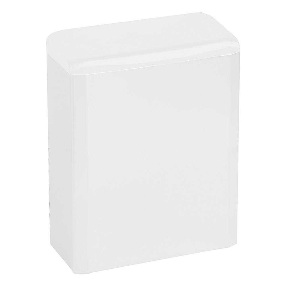 Mediclinics: Sanitary Napkin Disposal Bin: White #PP0006 1