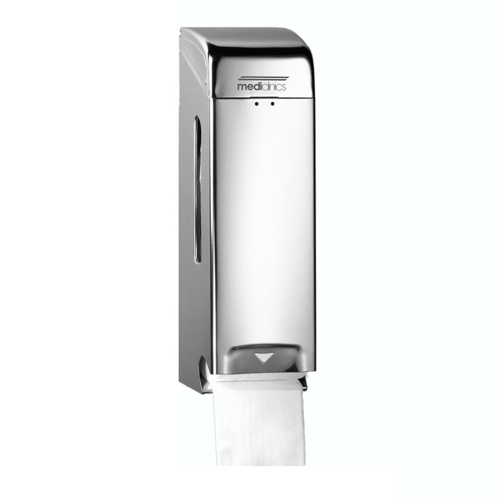 Mediclinics : 3 Toilet Roll Dispenser, Satin SS #PR0781CS 1