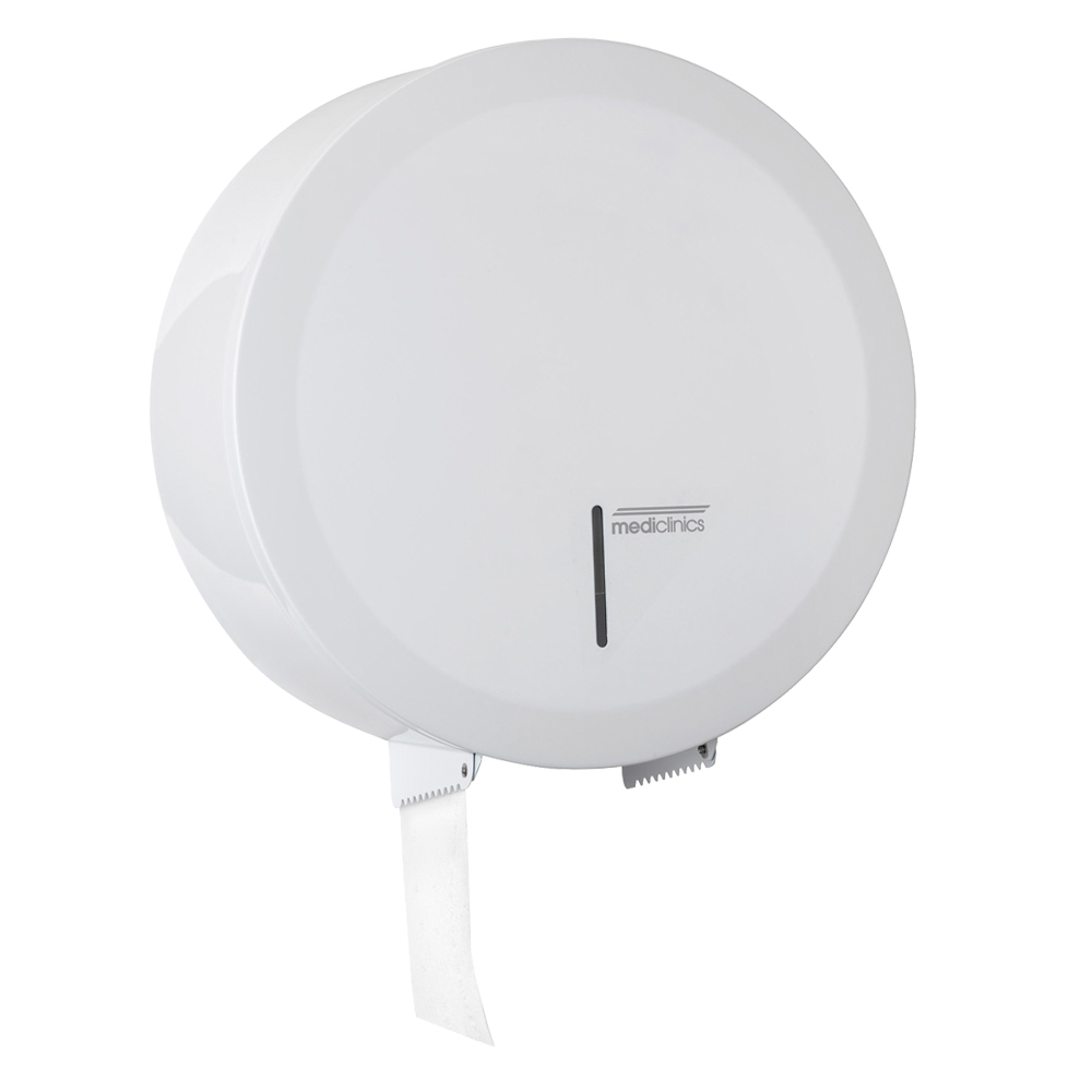 Mediclinics: Toilet Roll Dispenser: White Epoxy #PR2783 1