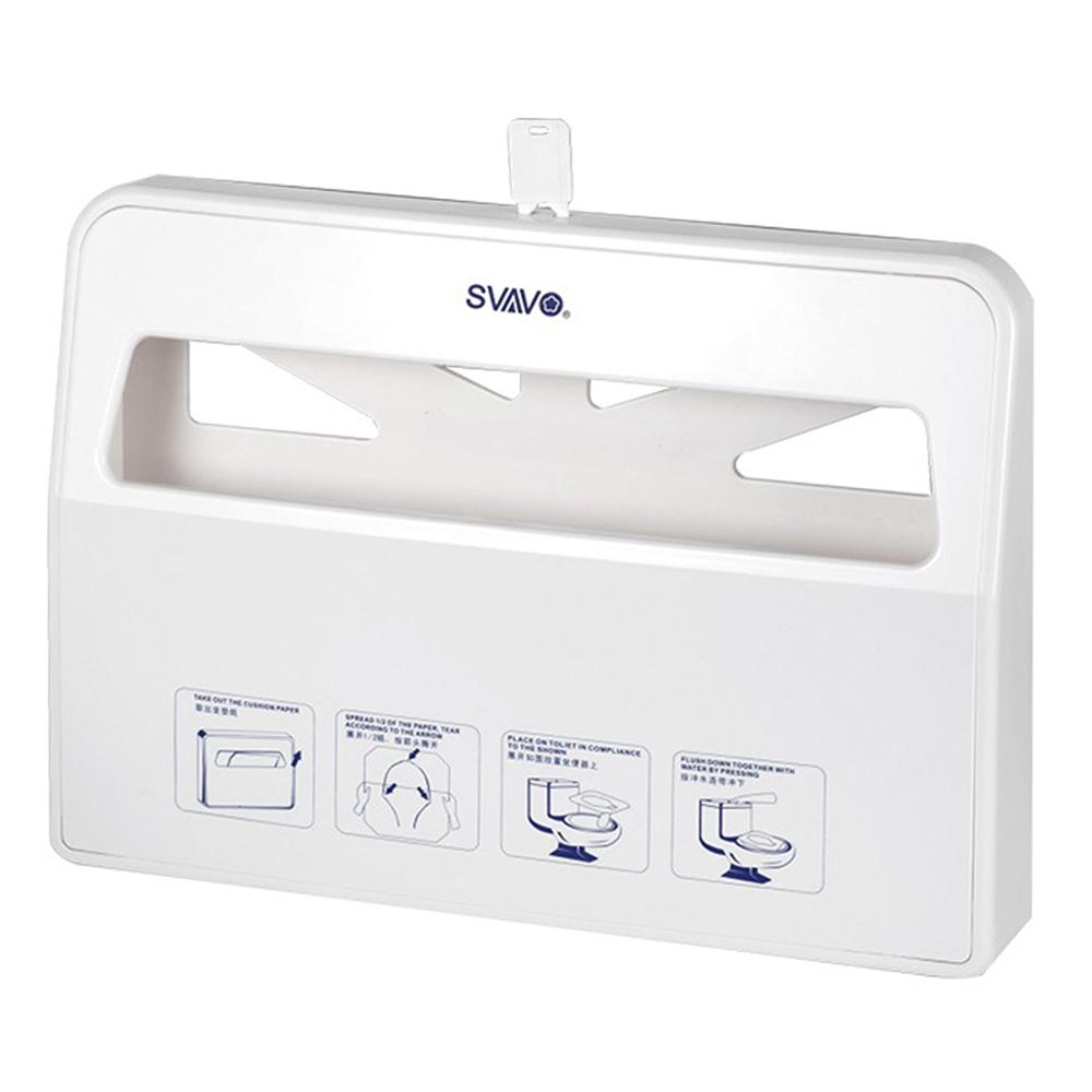 TAPIS: Toilet Seat Cover Paper Holder: White #V-781 1