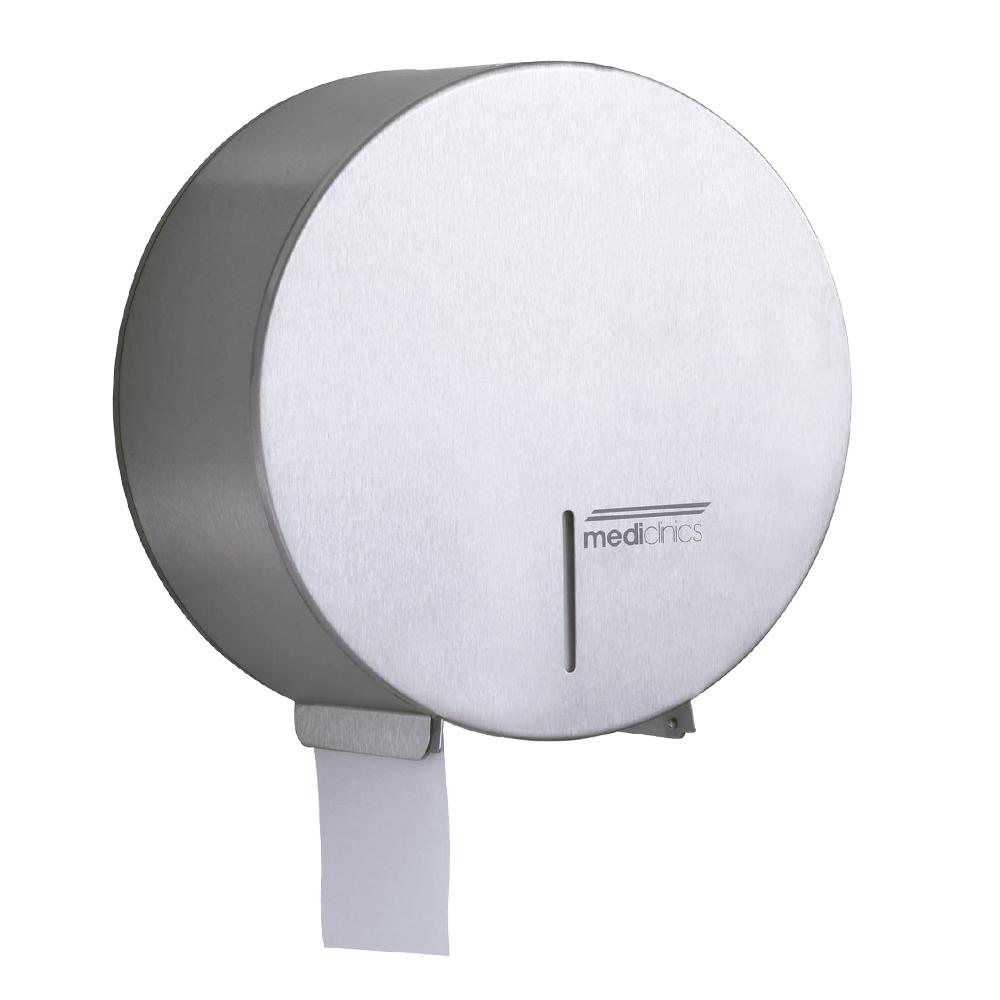 Mediclinics: Toilet Roll Dispenser: 250x125mm, Silver #PR0783CS 1