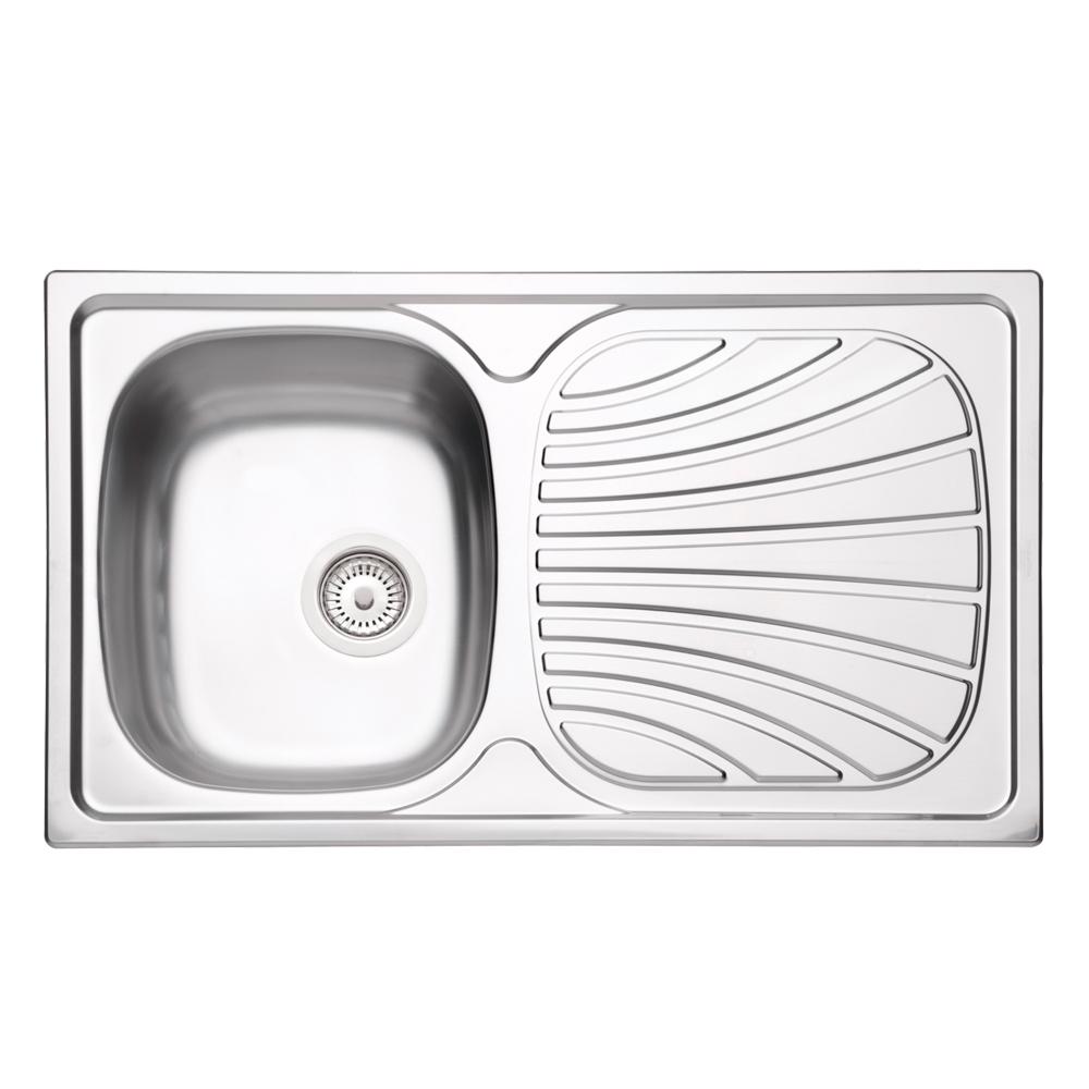 Tramontina: S/Steel Inset Kitchen Sink: SB/SD, 86x50cm, +Wst #93845102/602 1