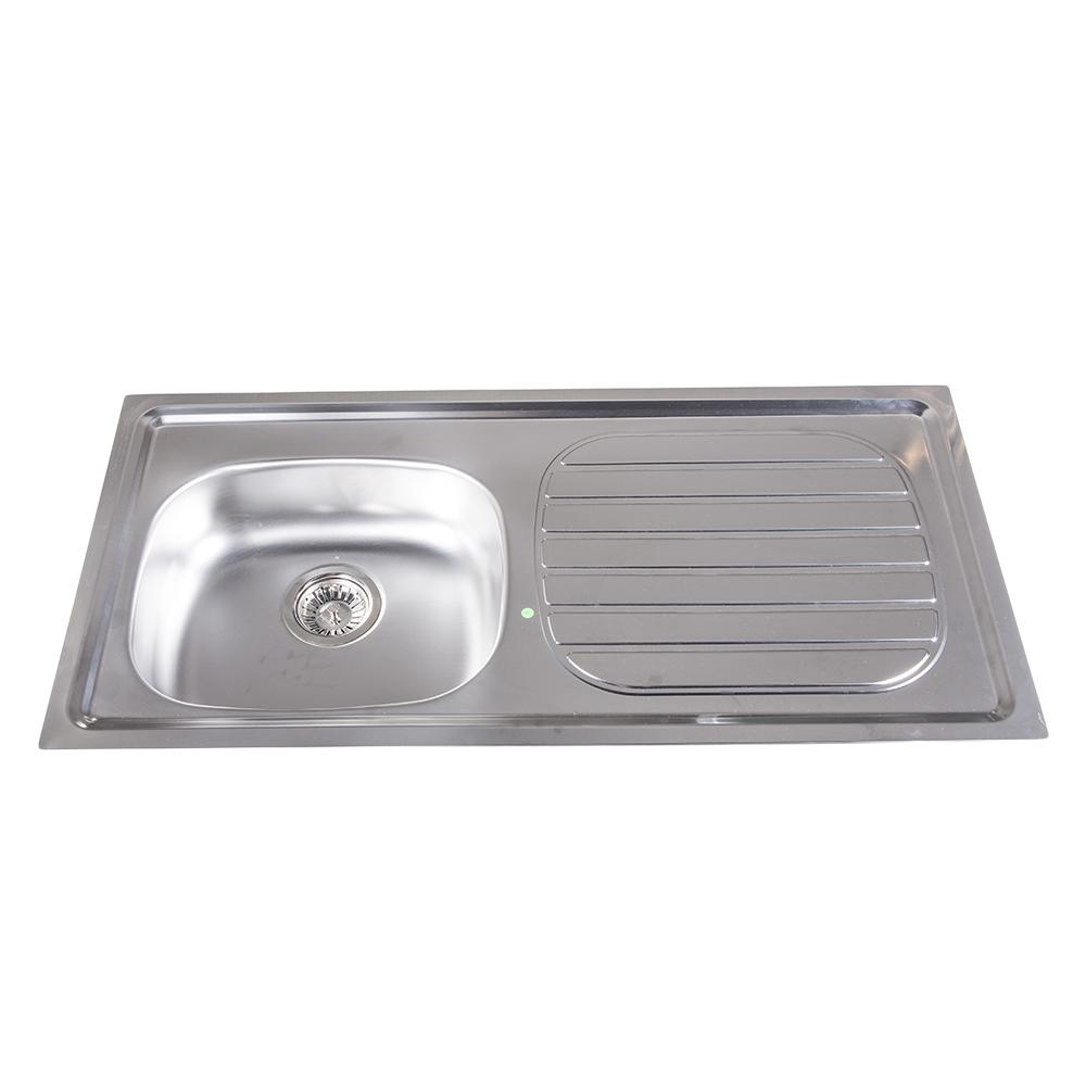 Tramontina: S/Steel Kitchen Sink: SB/SD,100x50cm + Wst #93412592 1