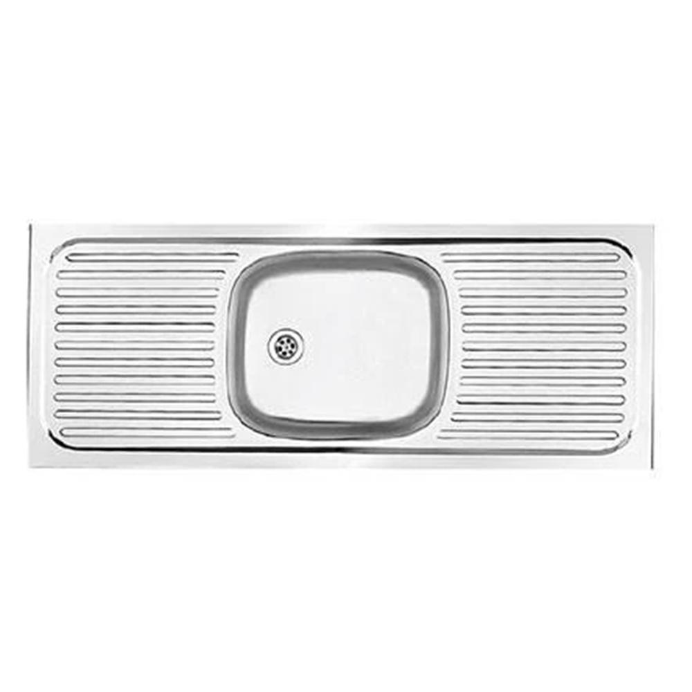 Franke: Trendline Lay On S/S Sink; SB/DD + Waste, 120×53