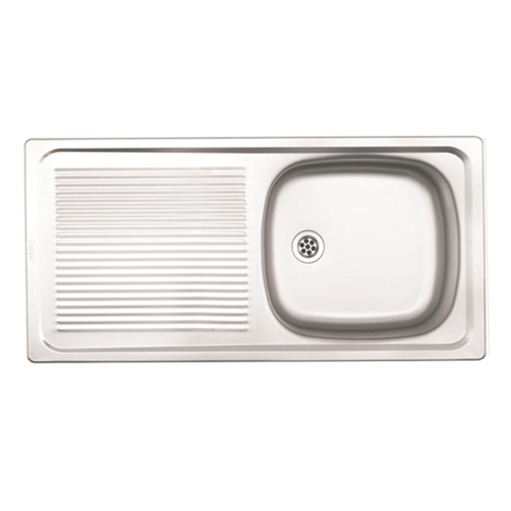 Franke: Trendline Lay On S/S Sink SEB; SB/SD + Waste, 100x46cm #1030005/1120017 1