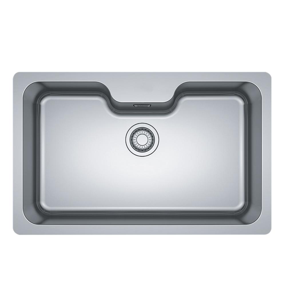 Franke: Bell BCX 110-7503E-C SS Inset Single Bowl Kitchen Sink + Waste Set; 51X81cm #1220024/1120129/072/073 1