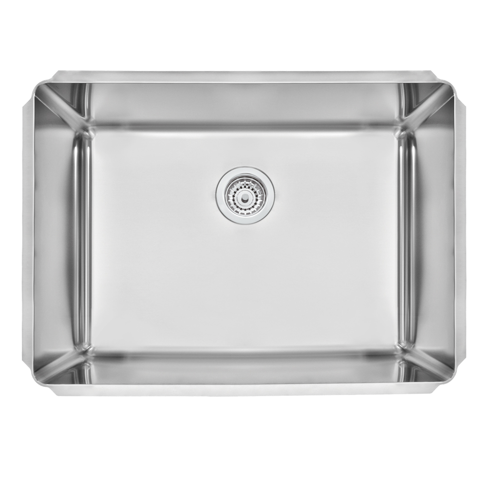 Tramontina: Dritta Pro S/Steel Built-In Wash Bowl, Single Bowl, Scotch Brite 50x70cm #94095102 1