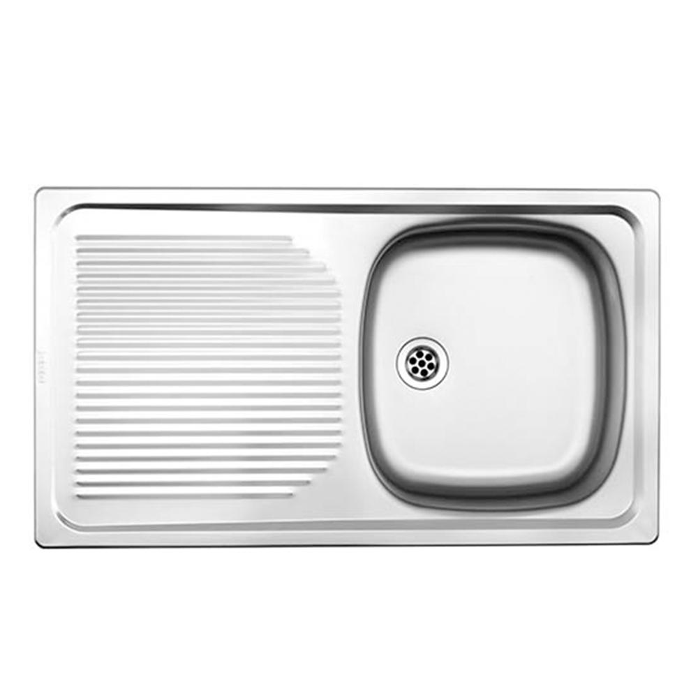 Franke: Projectline SS Sink With Waste: SB/SD, 80x46cm #PLN611/1120017/302021 1