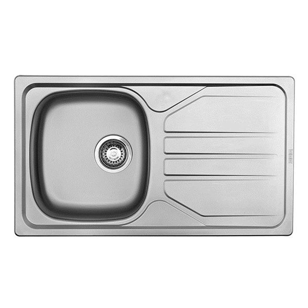 Franke: Nouveau: SS Kitchen Sink With Waste: SB/SD 80X46cm #NVN611/1120001/302021 1