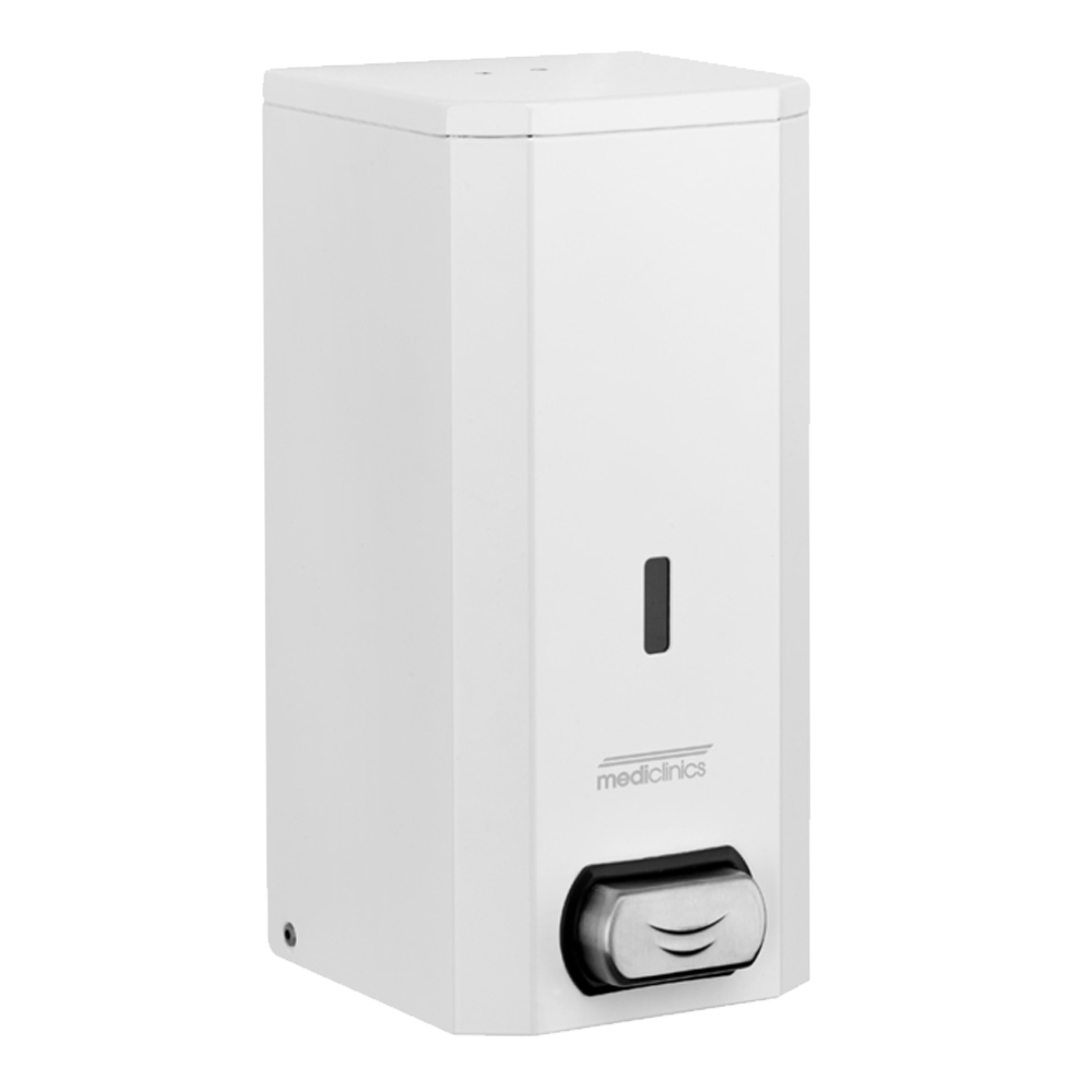 Mediclinics: Soap Dispenser: 1500ml, White #DJ0031 1