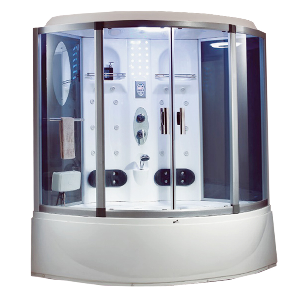 NTH: Steam Room+ Jacuzzi Bathtub+ Computer& Remote Control+ Radio+ Phone+ Fan+ Foot Massage; 152x152x220cm #MY-2259 1