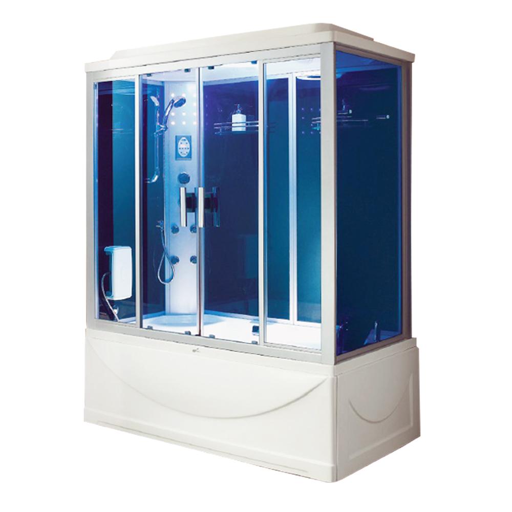 NTH: Steam Room+ Jacuzzi Bathtub+ Computer& Remote Control + Radio + Phone+ Fan+ Foot Massage; 171x91x220cm #MY-2267 1