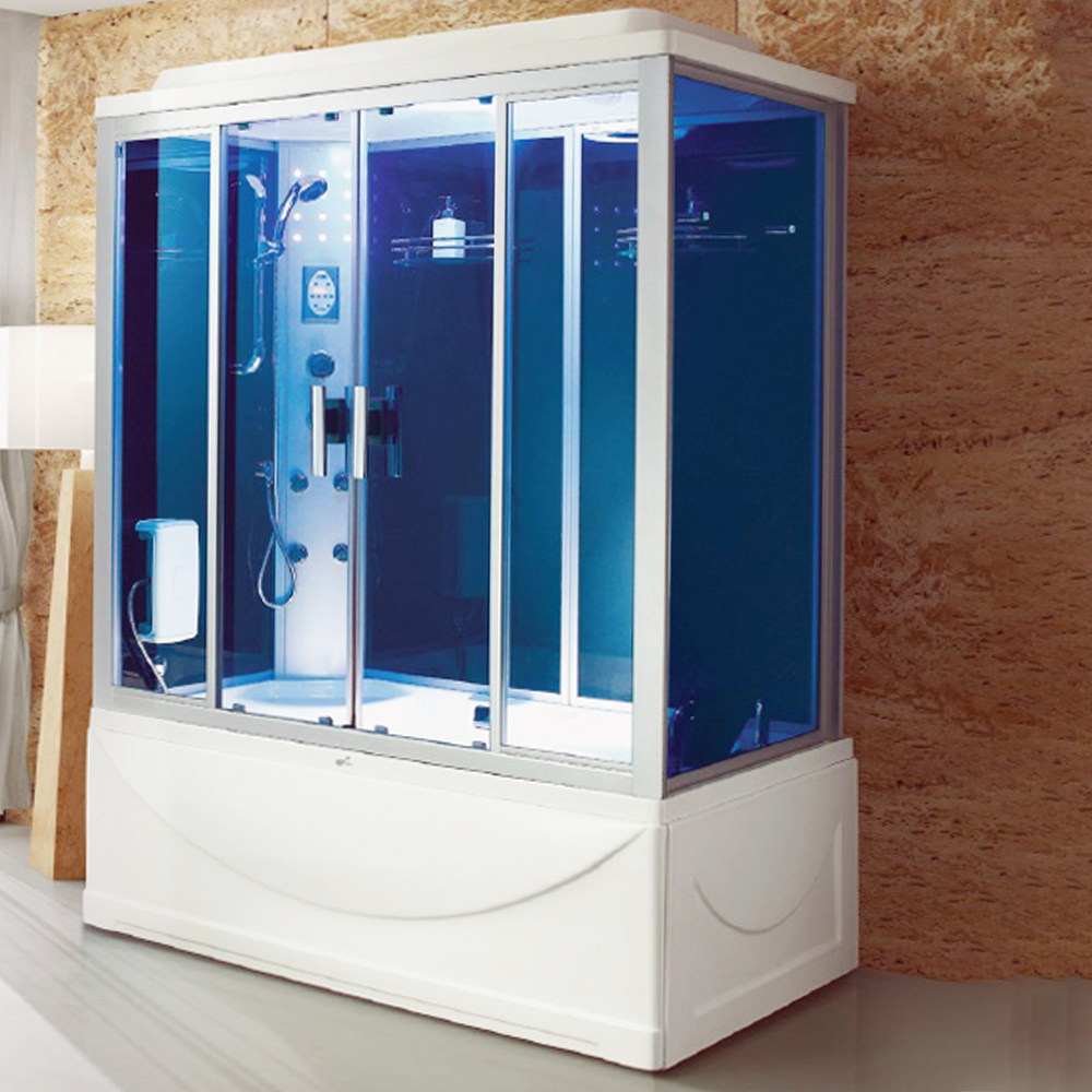 NTH: Steam Room+ Jacuzzi Bathtub+ Computer& Remote Control + Radio + Phone+ Fan+ Foot Massage; 171x91x220cm #MY-2267
