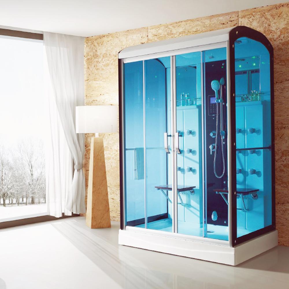NTH: Steam Room + Computer & Remote Control + Radio + Phone + Folding Stool; 150x95x225cm #MY-2274