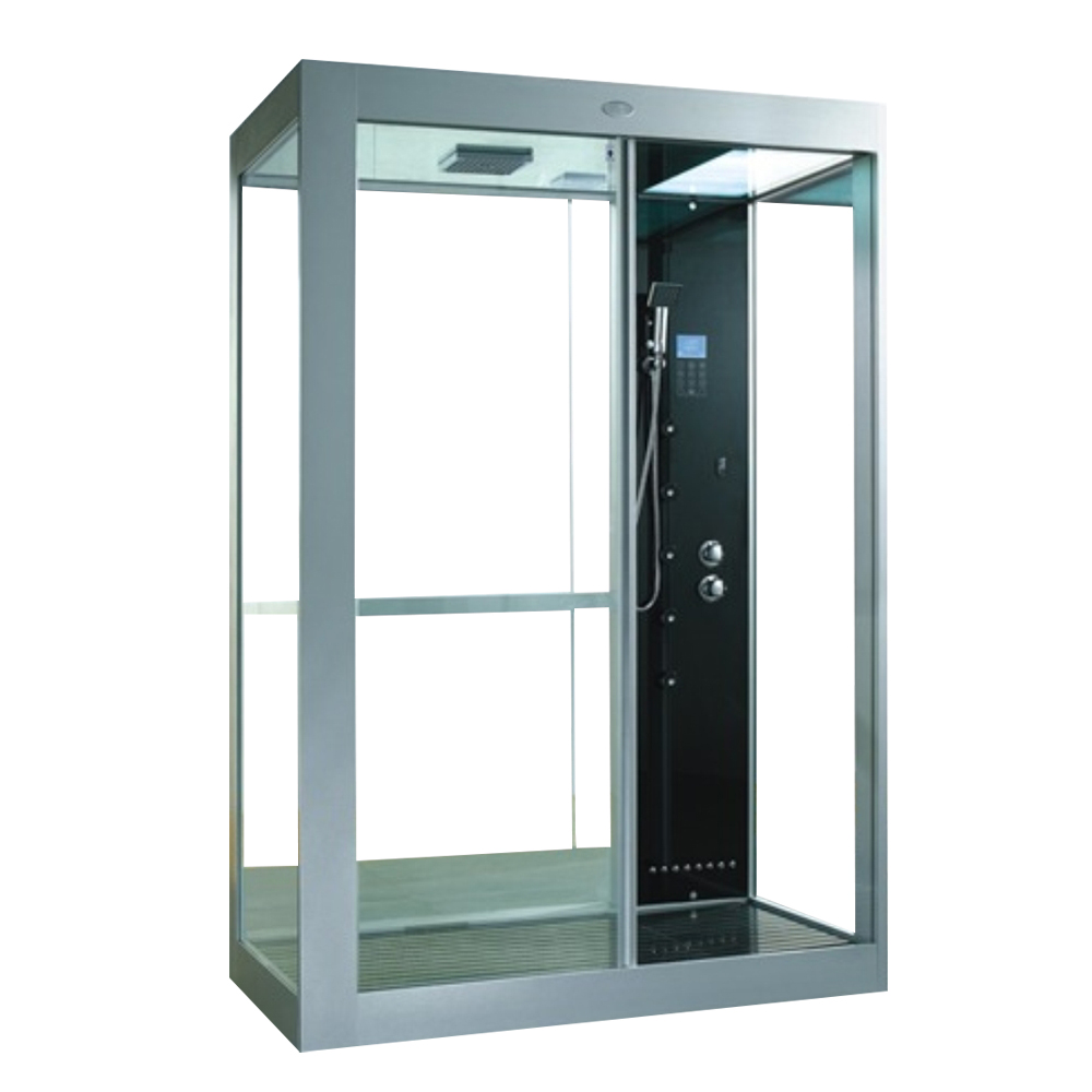 CRW: Steam Shower Cubicle With Radio, Phone,  Fan, Thermostatic Mixer; 150x90x233cm #AA0002H 1