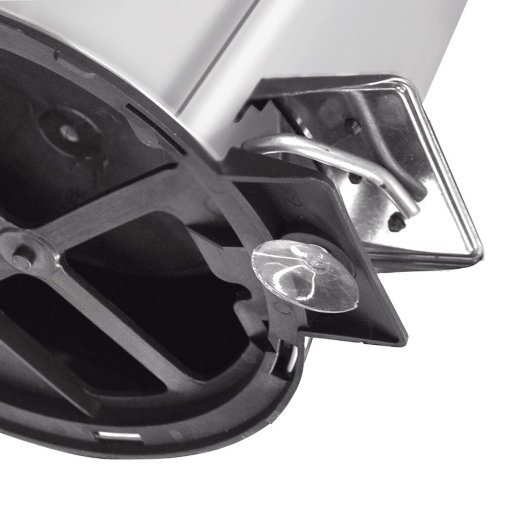Tramontina: S/Steel Step Bin; 3lts Mirror Polish #94538103
